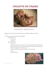 Fichier PDF tuto poulette de p ques