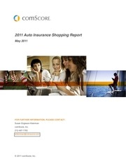 comscore 2011 auto insurance shopping report