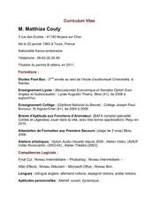 cv 2014 couty matthias