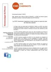 02 comunique presse ufcac 2014 reaction article figaro position cfdt sur droit de retrait