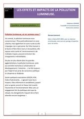Fichier PDF environnement impacts de la pollution lumineuse