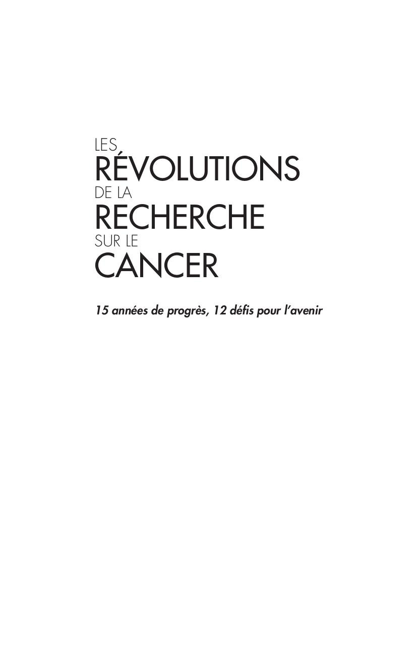 Revolutions_rech_cancer_web.pdf - page 3/132