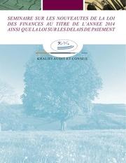 seminaire loi de finances 2014