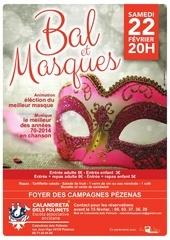 Fichier PDF affiche bal et masques