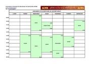horaires secretariat