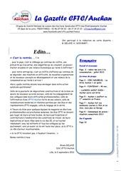 la gazette 49 092013