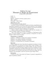 syllabus mmf2014