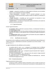 DOC-PRO-001 Gestion systeme documentaire IRES v1.pdf - page 4/8