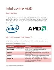 Fichier PDF intel et amd