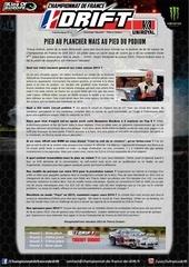 communique n 17 championnat de france de drift interview thierry dubois