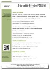 securite privee forum 83 629 interieure newsletter n 03