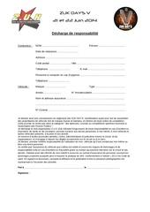 decharge et reglement zuk day s v 2014