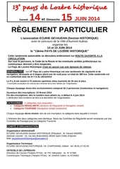 reglement 2014 2 categories
