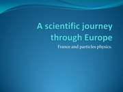 a scientific journey through europe