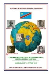 conclave internationnale des combattants de belgique