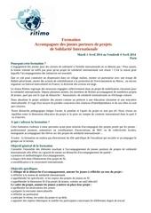 Fichier PDF presentation formation de projets jsi avril 2014