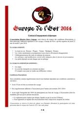 contrat europe de l est