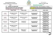 emplois 1ere annee 17 au 22 fevrier 2014