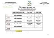 emplois 3eme annee du 17 au 22 fevrier 2014