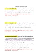 Fichier PDF programme des cours