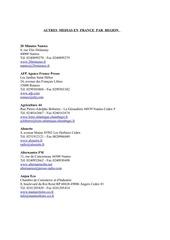 Fichier PDF autres medias en france par region