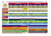 horaires yechiva pinto vlb france du 02 janvier