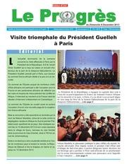 journal le progres n 341 du 8 decembre 2013