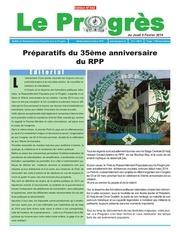 journal le progres n 342 du 6 fevrier 2014