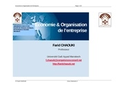 syllabus economie organisationpdf
