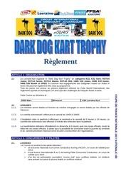 reglement dark dog