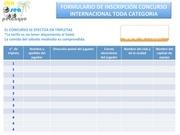 Fichier PDF formulaire d inscription concours international 1 es