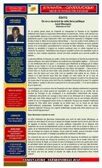 rwanda ge opolitique e dition nume ro 003