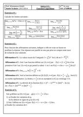 fonction logarithme bac sc exp