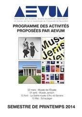 programme sp 2014