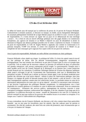 resolution cn 15 16 fevrier 2014