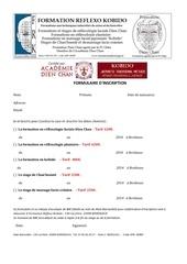 1 formulaire d inscription 2014