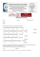 1 formulaire d inscription week end