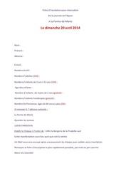 1 fiche inscription du dimanche 20 04 2014