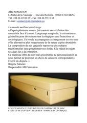 Fichier PDF cercueils en carton
