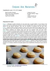 coque macarons