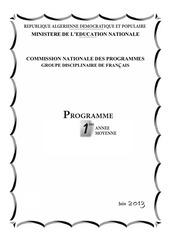 programme 1am 2013