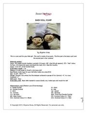 Fichier PDF baby doll scarf