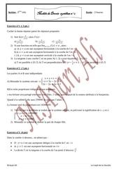modele de devoir synthese n 2 3eme info