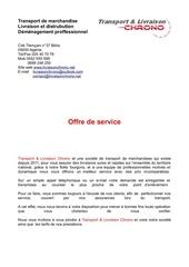 offre de services2014
