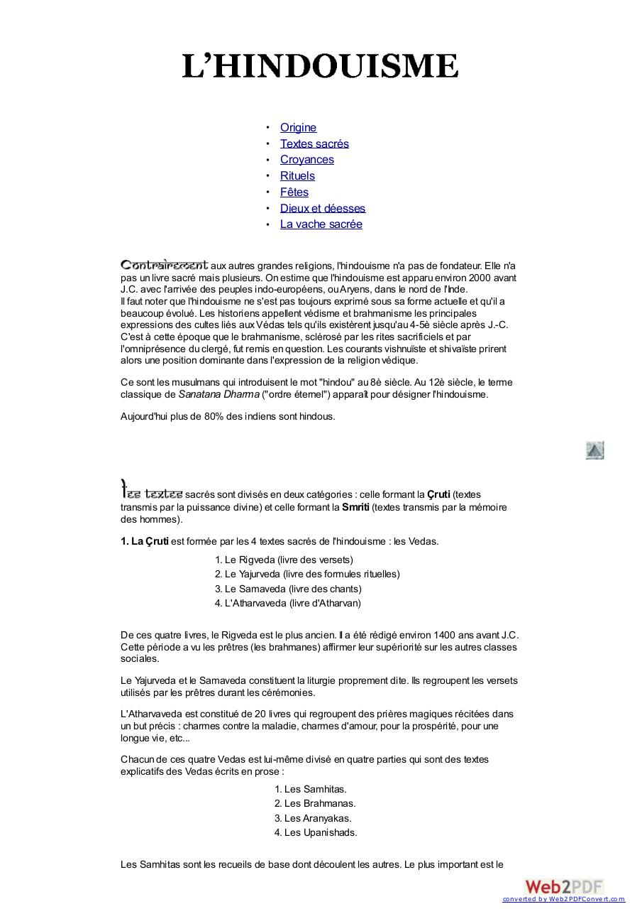 Aperçu du document hindousime.pdf - page 1/6