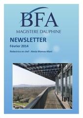 Fichier PDF newsletter magistere bfa 1