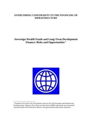 wbg swf and long term dev finance risks and opportunities