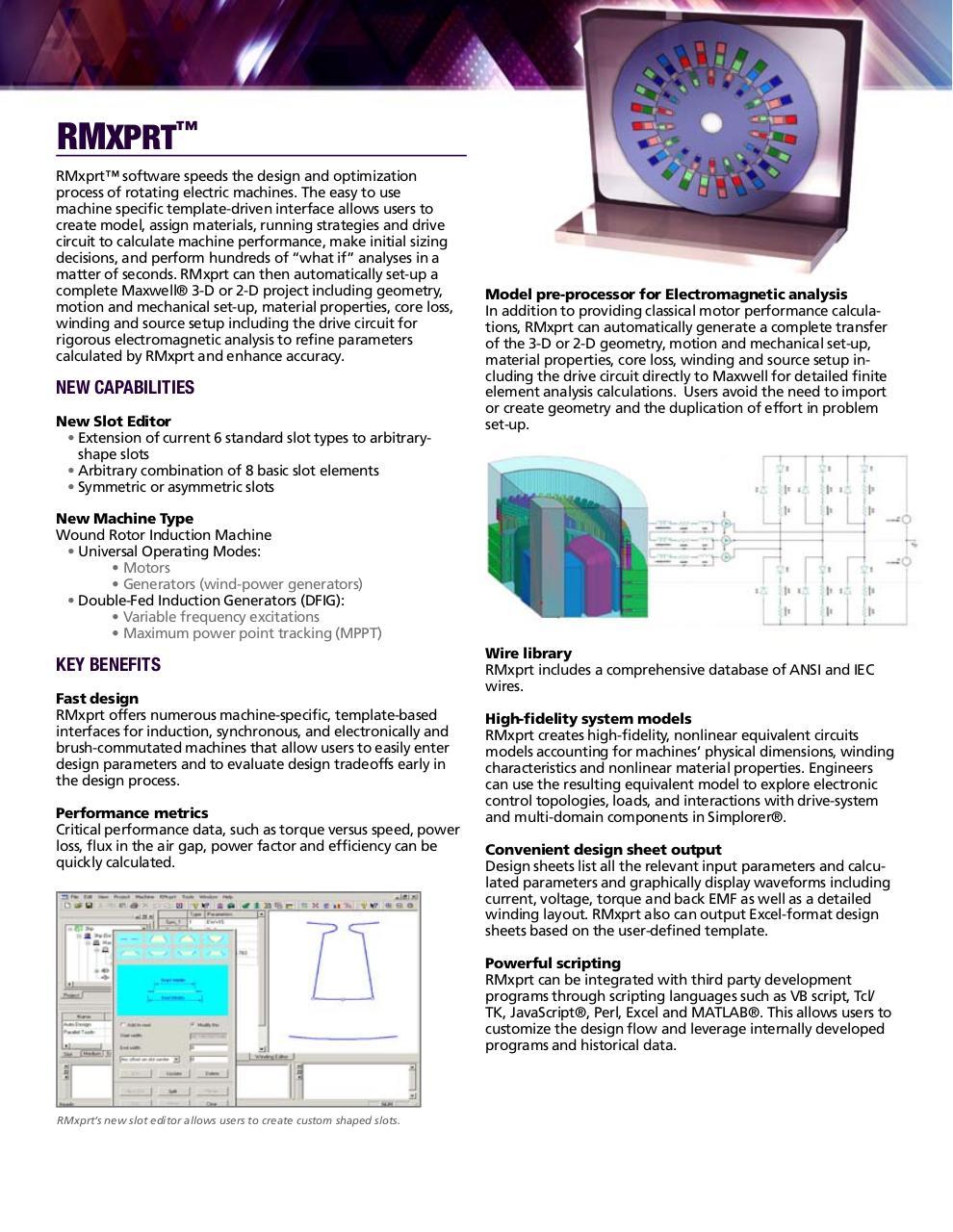 189165495 Electrical machine design using rmxprt - Fichier PDF