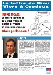 journal special impots a coudoux