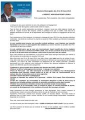 profession de foi jmc elections municipales des 23 et 30 mars 2014 vd